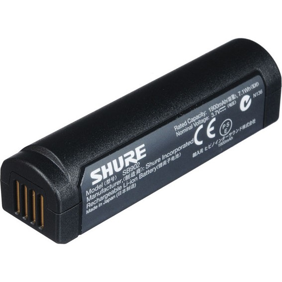 SB902 Shure Lithium-Ionen Akku