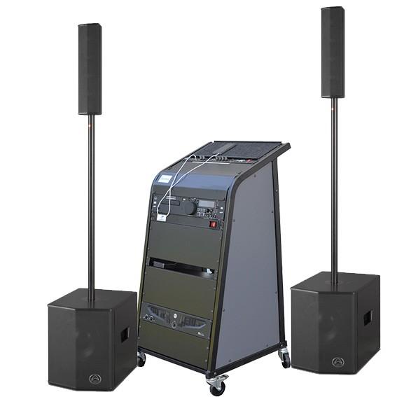 bis 100qm Samba410 Soundsystem, CD, Bluetooth für hallige Räume