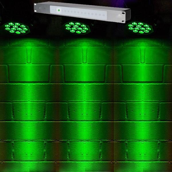 Lightshow-12- einfachste Bedienung, fertig programmiert