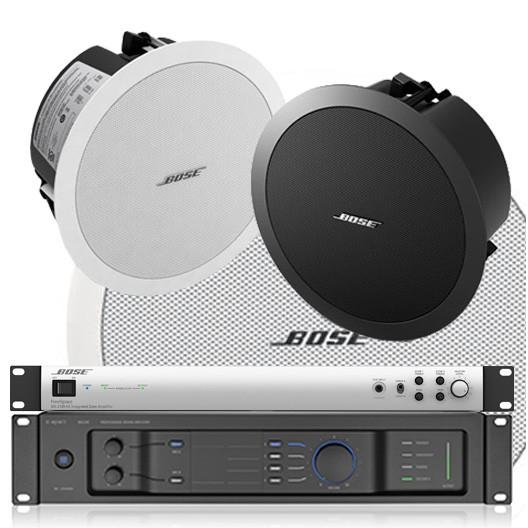 bis 600qm Hintergrundbeschallung Bose DS40F