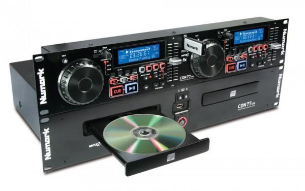 CDN77USB Doppel-CD/MP3/USB-Spieler