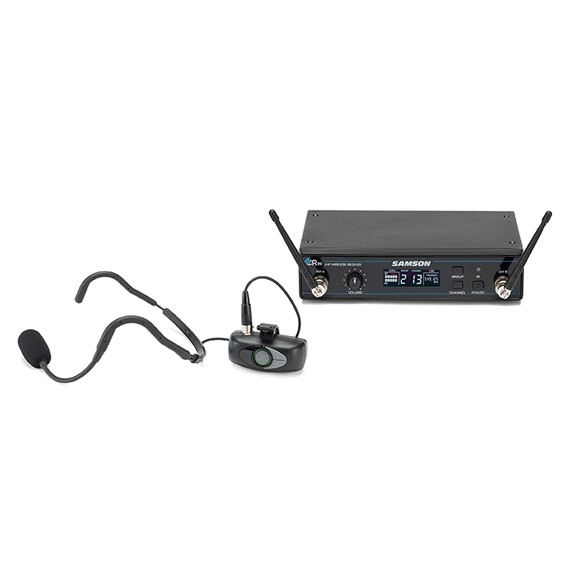 AHX Fitness Headsetsystem mit Akku und Mini Sender