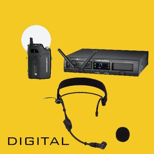 ATW-1301/Pro9 Funkmikrofonanlage mit Fitnessheadset 2,4 GHz-Technologie