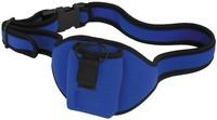 Gürteltasche für Mikrofontaschensender, blau