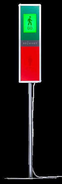 GoVivet mit Frequenzmessung inkl. Stativ Durchgangszähler