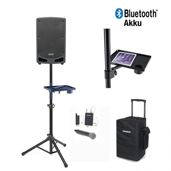 Expedition 312w Akkulautsprecher mit Mikrofon und Abdeckhaube sowie Bluetooth