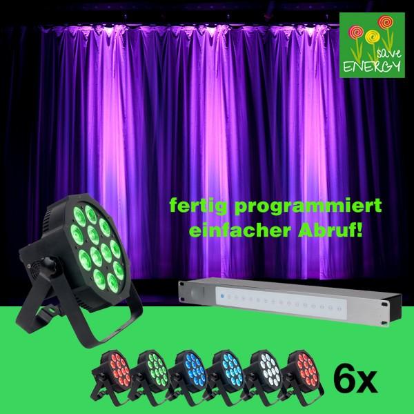 Lichtcontrol -6- einfachste Bedienung, fertig programmiert