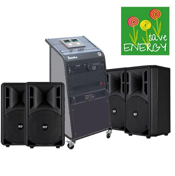 bis 200qm Kursraum-Musikanlage Samba-ART /Bluetooth bis 200qm Kursraum-Musikanlage Samba-ART /Blueto