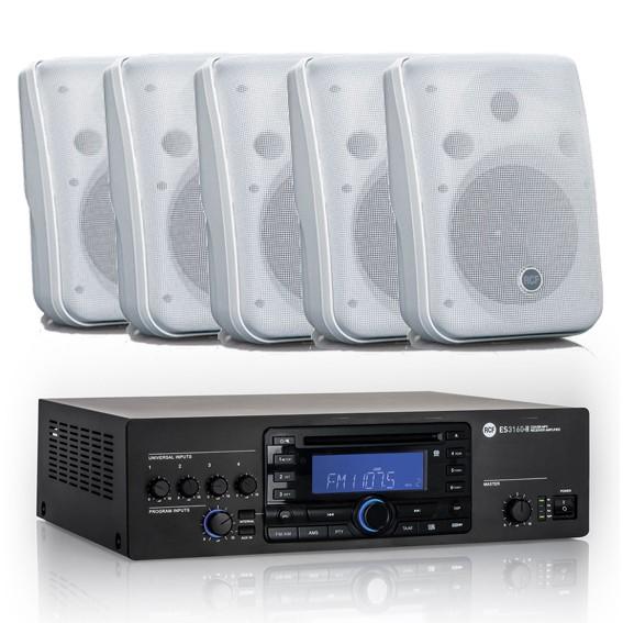 LiveSound150 bis 150qm/CD/USB/Bluetooth/Radio Hintergrundsound
