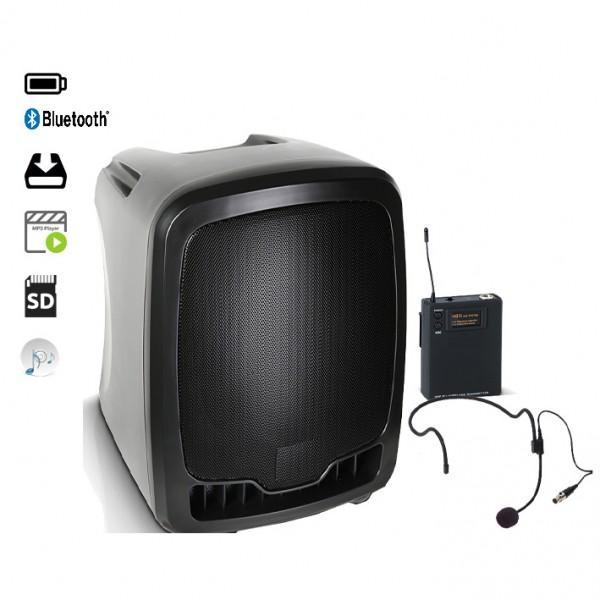 Boy 65 CD/MP3 und USB Mikrofonanlage mit Mikrofon