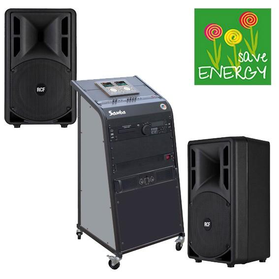 bis 150qmKursraum-Musikanlage Samba-ART /CD, Bluetooth