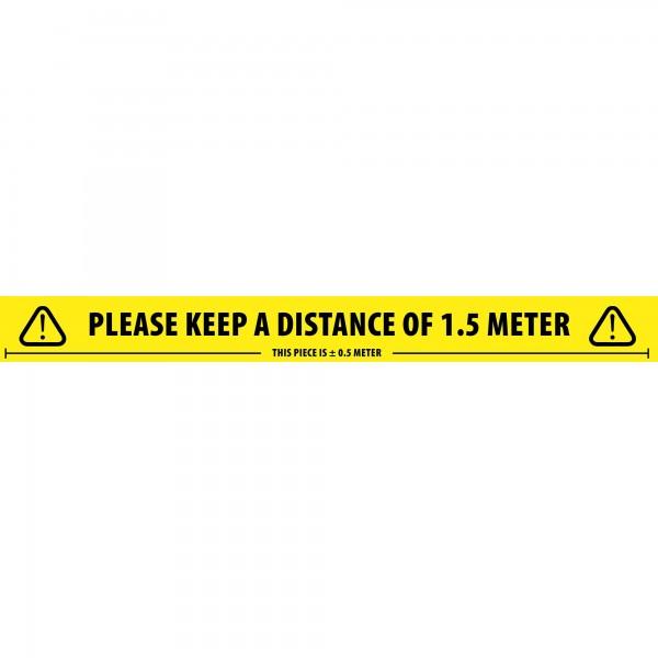 Abstandsband -Please keep a distance- 1,5m