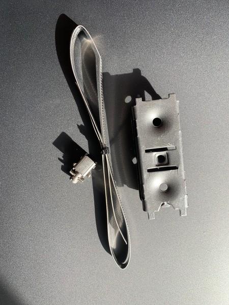 Cardio-Entertainment Stahlhalterung für Bedienmodul